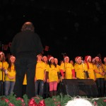 Il coro della Bernardo Benussi